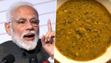 Dal Raisina Recipe: Here's All About The Star Dish of Narendra Modi's Swearing-In Ceremony Menu That Takes 2 Days to Prepare (Watch Video)
