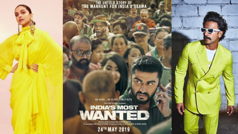 Ranveer Singh and Deepika Padukone review Arjun Kapoor's India's Most Wanted
