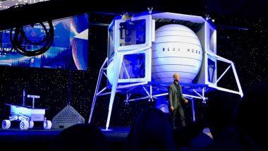 Jeff Bezos Unveils Moon Lander Concept Spacecraft Called Blue Moon
