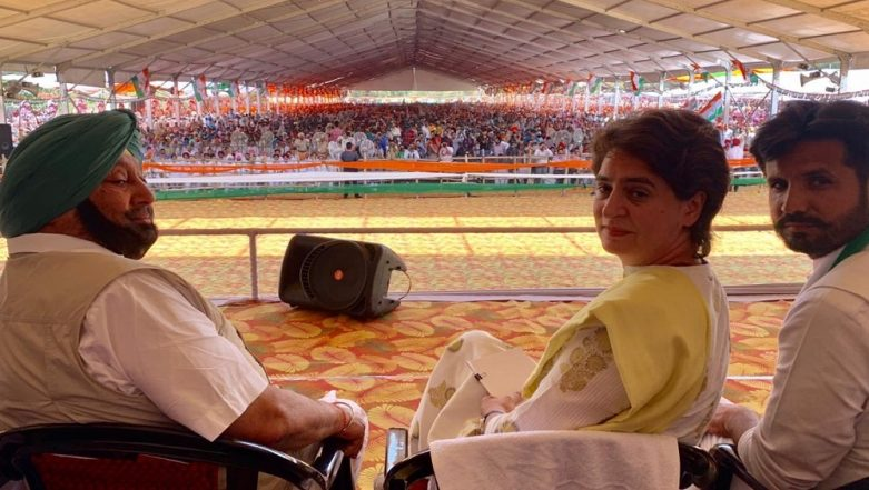 Lok Sabha Elections 2019: Priyanka Gandhi Vadra Claims to Be a Punjabi 'Bahu' in Bathinda