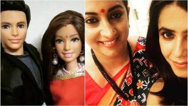 Smriti Irani Jokes About Mihir-Tulsi Dolls as Kasautii Zindagii Kay 2's Parth Samthaan-Erica Fernandes Get AnuPre Toys!