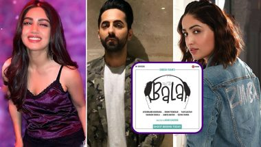 Bala Goes on Floor - Here's All You Need to Know About Ayushmann Khurrana, Yami Gautam and Bhumi Pednekar's Film