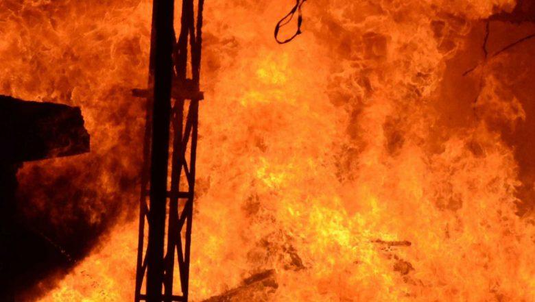 Punjab Fire: Huge Blaze After Explosion at Firecracker Factory in Gurdaspur, 16 Killed, 10 Injured