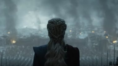 Game Of Thrones Season 8 Episode 6 Promo: Daenerys Targaryen Walks Proudly in the Aftermath of King's Landing Battle in the Series Finale (Watch Video)