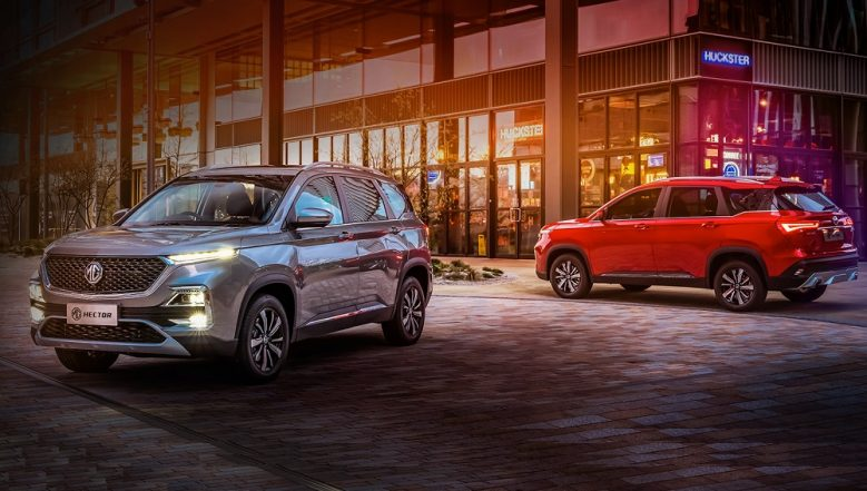 2019 MG Hector SUV Officially Unveiled; India Launch Next Month - View Pics