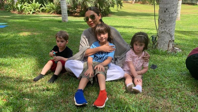 Sunday Visual Treat: Gauri Khan Spends the Day With Three Musketeers – AbRam Khan, Roohi Johar and Yash Johar, View Pic