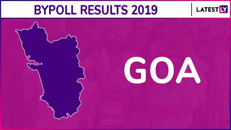 Goa Assembly Bypoll Results 2019: Congress Wins Panaji, BJP Bags Mapusa Vidhan Sabha Seat