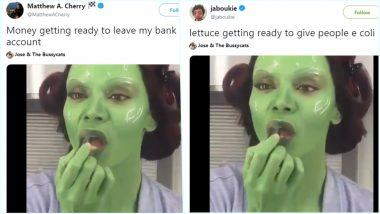 Gamora Memes Take Over the Internet Amid Avengers Endgame Fever; Video of Zoe Saldana Putting Green Lipstick Goes Viral