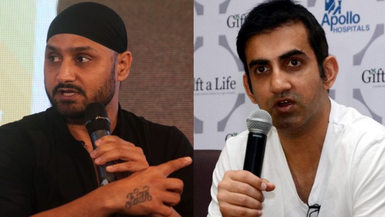 Harbhajan Singh Comes Out in Support of Gautam Gambhir After AAP Candidate Atishi Accuses Former Cricketer of Distributing Derogatory Pamphlet Against Her