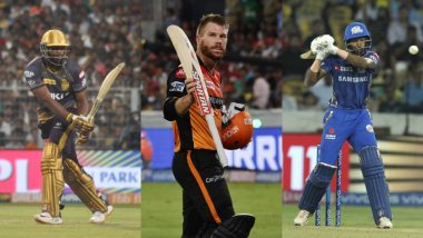 ICC Cricket World Cup 2019: David Warner, Jos Butler, Andre Russell, Hardik Pandya and 6 Other Power Hitters to Watch Out For in This Tournament