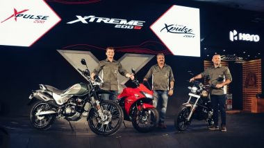 Hero XPulse 200, XPulse 200T Adventure Motorcycles & Xtreme 200S Sports Bike Launched in India