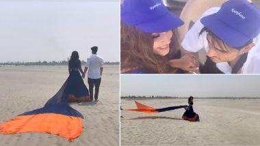 Hina Khan and Priyank Sharma Treat Fans to a Glimpse of Their Upcoming Romantic Single Titled Raanjhanaa – View Pics