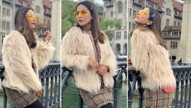 Hina Khan's Latest Outing Will Give Even the Parisians a Run for Their Money (View Pics)