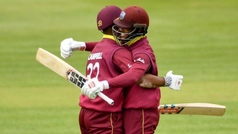 Highest Opening Partnership in ODIs: Shai Hope and John Campbell Break Fakhar Zaman and Imam ul Haq's Record, Achieve Feat During IRE vs WI ODI