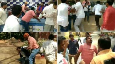 Karne Srisailam, Dalit Body Chief, Attacked During Press Conference in Hyderabad; Watch Video