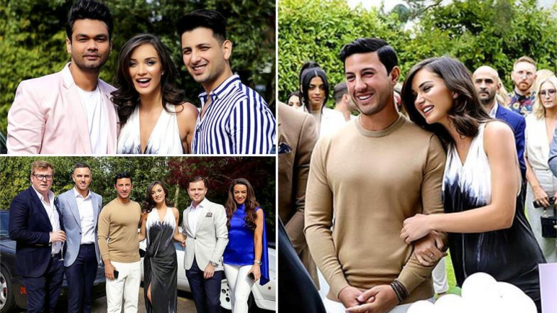 Amy Jackson and George Panayiotou's Happy Pictures from Their Engagement Bash Cannot be Missed
