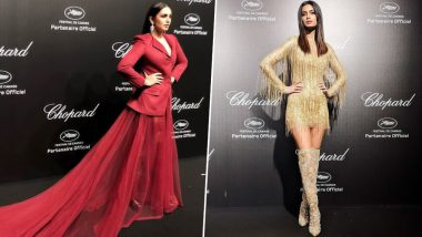 Cannes 2019: Huma Qureshi and Diana Penty Try too Hard to Shine at the Chopard Party - View Pics
