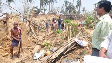 Odisha Man Lives in Toilet With Wife and Two Daughters After Cyclone Fani Destroys House, Family Forced to Defecate in Open