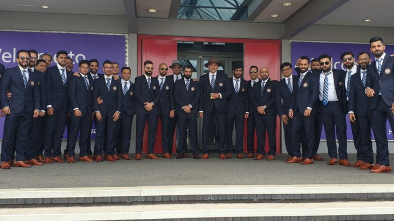 Indian Cricket Team Arrives in London Ahead of ICC Cricket World Cup 2019, Check Pics