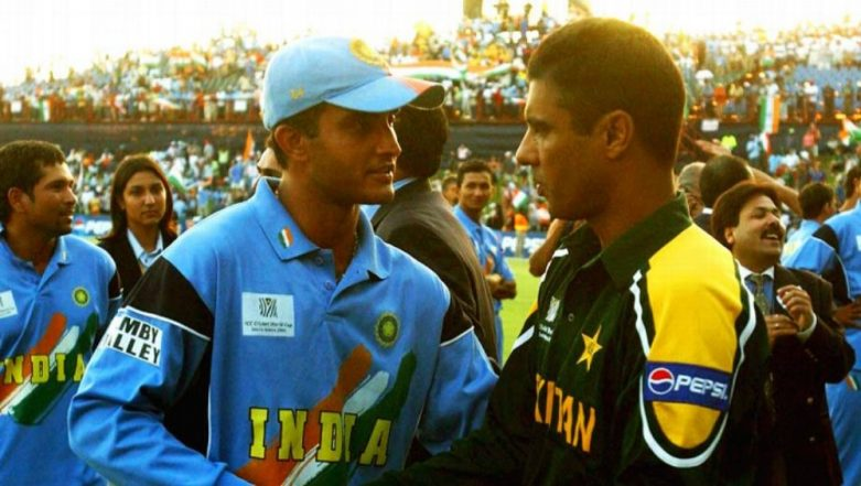 India vs Pakistan, ICC Cricket World Cup 2003: When Waqar Younis Got Booed by Indian Fans in Centurion (Watch Video)