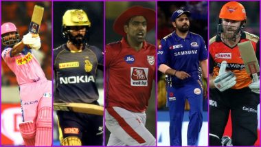 IPL 2019 Playoffs Scenarios: With DC and CSK Having Already Qualified for the Next Round, Here's How Two Teams Out of MI, SRH, RR, KKR, and KXIP Can Progress