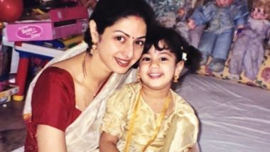 Mother's Day 2019: Janhvi Kapoor Remembers Mom Sridevi; Her Emotional Post for the Late Actress Will Melt Your Heart (View Pic)
