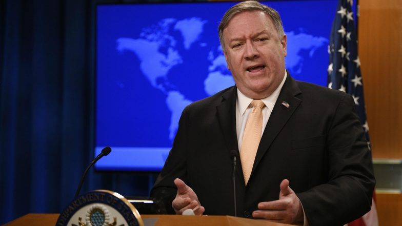 US Secretary of State Mike Pompeo Threatens More Sanctions on Iran Over Uranium Limits