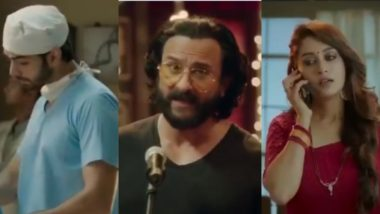 Saif Ali Khan Takes Up Stand Up Comedy! Just to Introduce Dipika Kakar and Karan V Grover's New Show Kahaan Hum Kahaan Tum – Watch Video