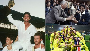 A Look At Cricket World Cup's Rich History: Winning Captains Over The Years