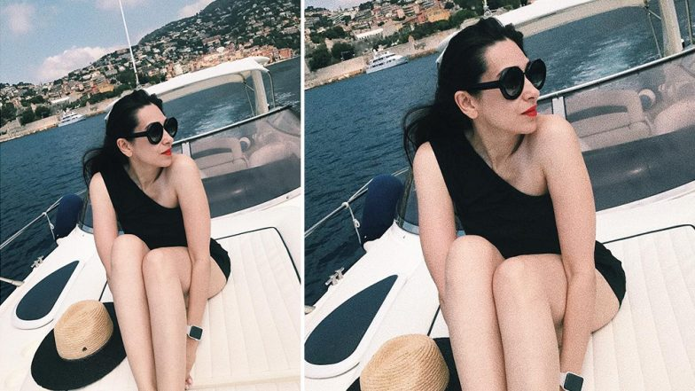 Karisma Kapoor Turns Up the Heat Wearing a Black Monokini in her 'Summer-Ready' Post - View Pic!