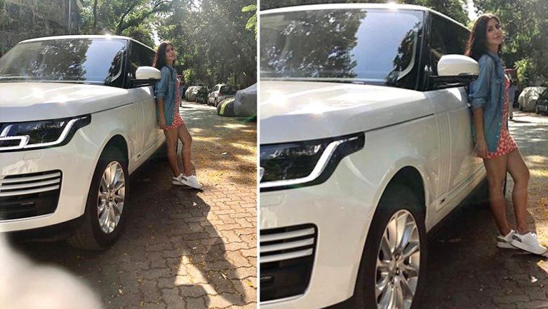 Katrina Kaif Gifts Herself a High-End Range Rover! Bharat Actress Shares a Glimpse of the Sparkling White Hot Wheels on Instagram
