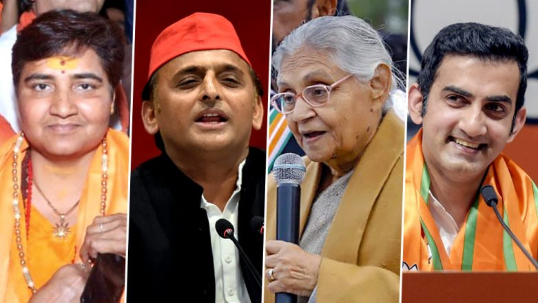 Lok Sabha Elections 2019: Key Candidates and Contests to Watch Out in Phase 6 of Polls