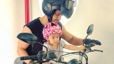 Inaaya Naumi Kemmu's Adorable 'Biker Baby' Pose With Dad Kunal Kemmu is the Cutest Thing You'll See Today - View Pic!