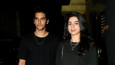 Khushi Kapoor Arrives with Model Ansh Duggal as Her Date for Student of the Year 2 Screening – Watch Video