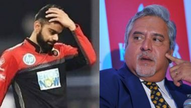 Vijay Mallya Takes a Sly Dig at Virat Kohli and AB de Villiers After RCB Finish Last on IPL 2019 Points Table