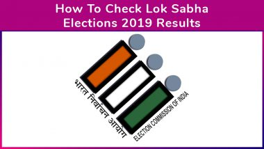 How To Check Lok Sabha Elections 2019 Results And Winner Names Live on Voter Helpline App, Election Commission Website results.eci.gov.in and suvidha.eci.gov.in