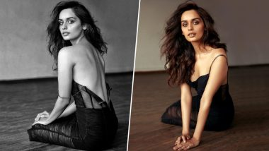 Manushi Chhillar's Latest Photo-Shoot in Backless Black Dress Is Smoking Hot – View Pics