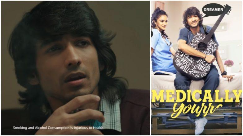 Alt Balaji Medically Yours: Lead Actor Shantanu Maheshwari Ends Up Smoking Real Cigarettes For The Web Series