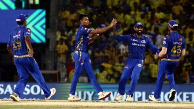 IPL 2020 Schedule: Mumbai Indians to Play the First Match of Indian Premier League 13 at Wankhede Stadium on March 29