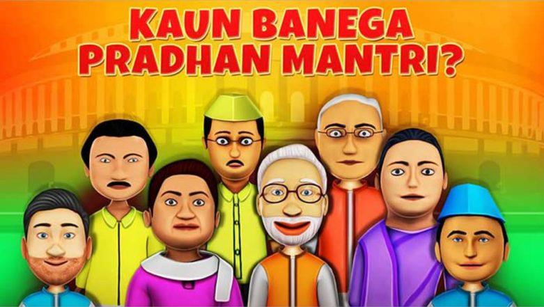 2019 Lok Sabha Elections: 'Kaun Banega Pradhan Mantri' Mobile Game Launched By Zapak in Association With Zhakaas Games