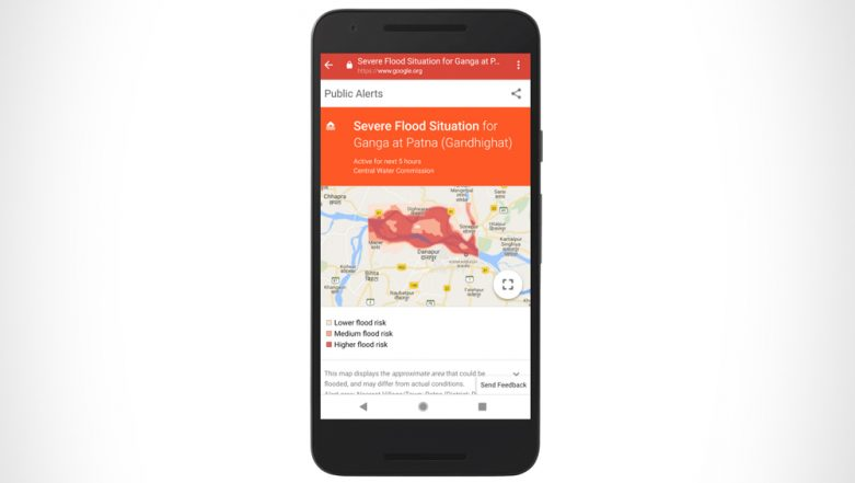 Google's AI Forecasting Service Can Predict Floods With 75 Percent Precision; To Be Rolled Out in India Before Monsoons