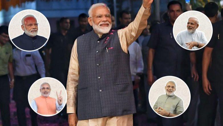 Narendra Modi Wins Lok Sabha Elections 2019! Modi GIFs, Whatsapp Stickers, Memes and Greetings to Congratulate the PM