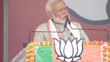 Lok Sabha Elections 2019: PM Narendra Modi Presents His Report Card to People at Kushinagar Rally