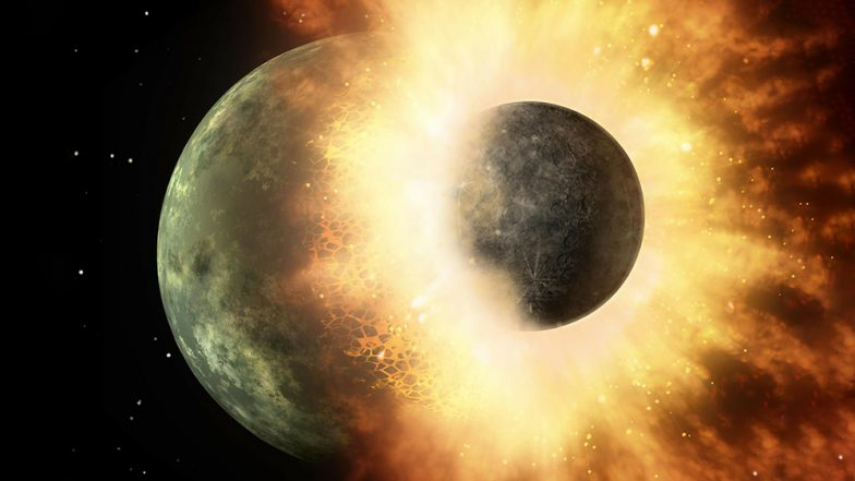 Why is The Moon Lopsided? Scientists Reveal About Ancient Collision of Earth's Satellite With a Dwarf Planet