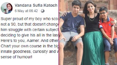CBSE Results 2019: This Mom Is Setting Mommy Goals Ahead Of Mother's Day With Her Viral Post Appreciating Her Son For Achieving 60% Marks