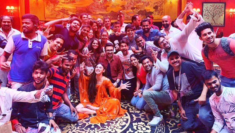 Mouni Roy Announces the Wrap of Rajkummar Rao Starrer Made in China With This Picture