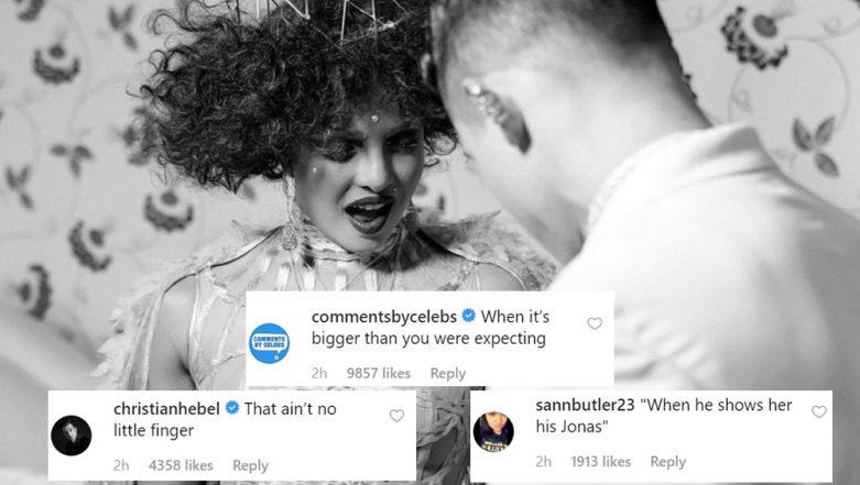 Priyanka Chopra Looks Mighty Impressed with Nick's 'Bonas Jonas' In This Instagram Pic from Met Gala 2019
