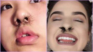 Nose Hair Extensions Is the New Beauty Trend & Women Are Slaying the Look on Instagram (View Viral Pics)