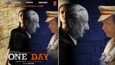 Anupam Kher Starrer One Day to Release on June 14