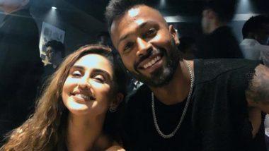 Hardik Pandya Poses With Krystle D'Souza; TV Actress Captions Latest Instagram Pic, 'Mere Bhai Jaisa Koi Hard ich Nahi Hai'